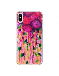 Coque iPhone XS Max Roses Rouges - Ebi Emporium