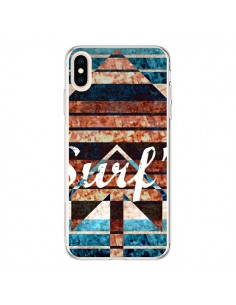 Coque iPhone XS Max Surf's Up Ete Azteque - Ebi Emporium