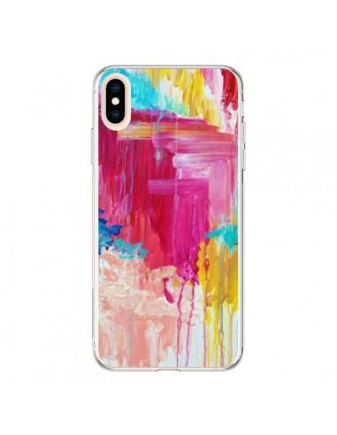 Coque iPhone XS Max Elated Peinture - Ebi Emporium