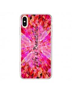 Coque iPhone XS Max Life is Beautiful - Ebi Emporium