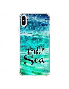 Coque iPhone XS Max Take Me To The Sea - Ebi Emporium