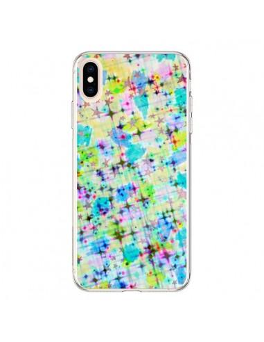 Coque iPhone XS Max Stars Etoiles Bleues - Ebi Emporium