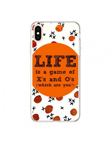 Coque iPhone XS Max Life is a Game XoXo - Ebi Emporium