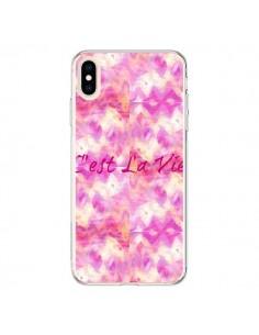 Coque iPhone XS Max C'est La Vie - Ebi Emporium