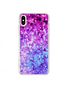 Coque iPhone XS Max Radiant Orchid Galaxy Paillettes - Ebi Emporium