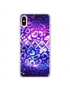 Coque iPhone XS Max Tribal Leopard Galaxy - Ebi Emporium