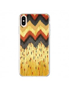 Coque iPhone XS Max Shine On Gold Azteque - Ebi Emporium