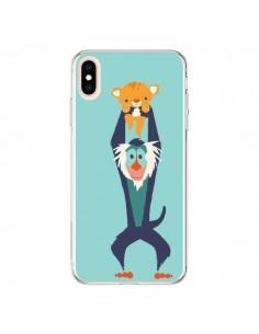 Coque iPhone XS Max Futur Roi Lion King Rafiki - Jay Fleck