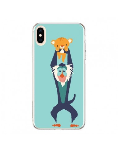 Coque iPhone XS Max Futur Roi Lion King Rafiki - Jay Fleck