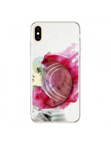 Coque iPhone XS Max Bright Pink Femme - Jenny Liz Rome