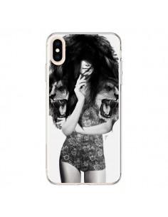 Coque iPhone XS Max Femme Lion - Jenny Liz Rome