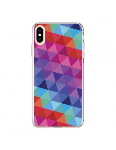 Coque iPhone XS Max Azteque Gheo Rose - Javier Martinez