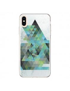 Coque iPhone XS Max Azteque Gheo Vert - Javier Martinez
