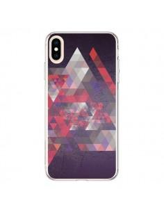 Coque iPhone XS Max Azteque Gheo Violet - Javier Martinez