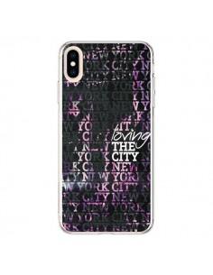 Coque iPhone XS Max Loving New York City - Javier Martinez