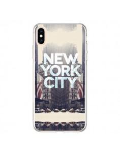 Coque iPhone XS Max New York City Vintage - Javier Martinez