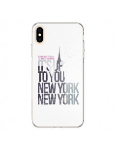 Coque iPhone XS Max Up To You New York City - Javier Martinez