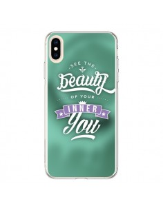 Coque iPhone XS Max Beauty Vert - Javier Martinez