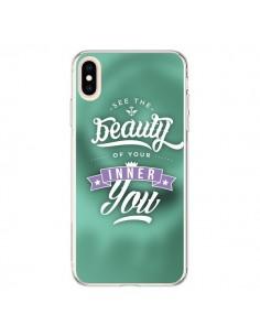 Coque iPhone XS Max Beauty Vert - Javier Martinez