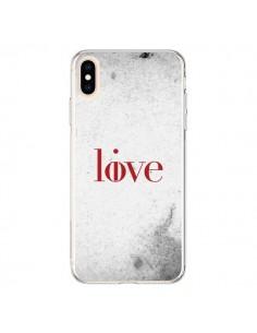 Coque iPhone XS Max Love Live - Javier Martinez
