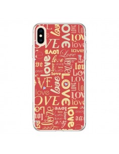 Coque iPhone XS Max Love World - Javier Martinez