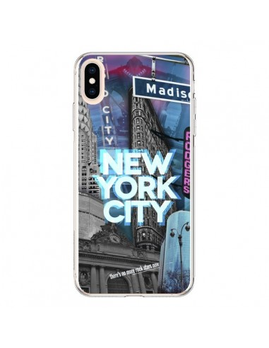 Coque iPhone XS Max New York City...