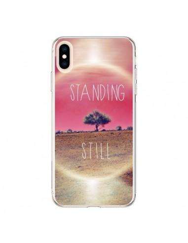 Coque iPhone XS Max Standing Still Paysage - Javier Martinez