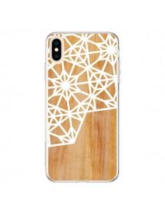 Coque iPhone XS Max Frozen Stars Etoile Bois Azteque Aztec Tribal - Jenny Mhairi