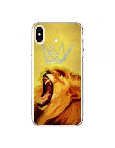 Coque iPhone XS Max Lion Spirit - Jonathan Perez