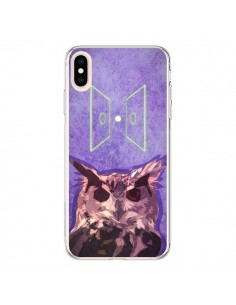 Coque iPhone XS Max Chouette Owl Spirit - Jonathan Perez