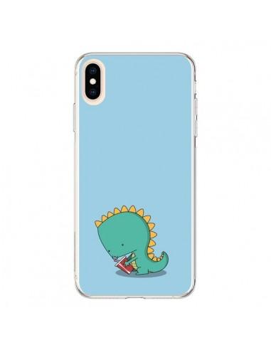 Coque iPhone XS Max Dino le Dinosaure - Jonathan Perez