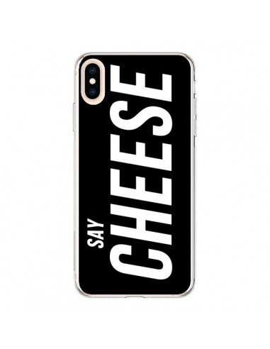 Coque iPhone XS Max Say Cheese Smile...