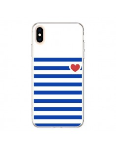 Coque iPhone XS Max Mariniere Coeur - Jonathan Perez