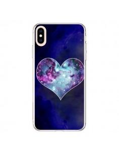 Coque iPhone XS Max Nebula Heart Coeur Galaxie - Jonathan Perez