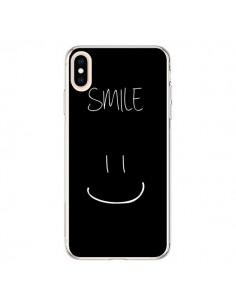 Coque iPhone XS Max Smile Souriez Noir - Jonathan Perez