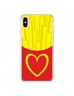 Coque iPhone XS Max Frites McDo - Jonathan Perez