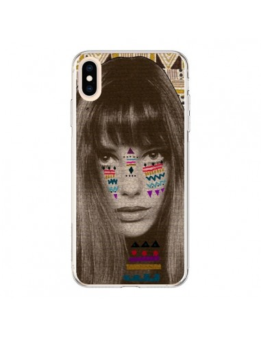 Coque iPhone XS Max Jane Azteque - Kris Tate