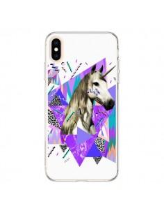 Coque iPhone XS Max Licorne Unicorn Azteque - Kris Tate