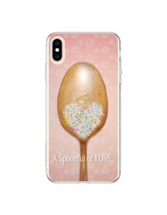 Coque iPhone XS Max Cuillère Love - Lisa Argyropoulos