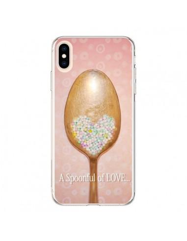 Coque iPhone XS Max Cuillère Love -...