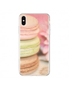 Coque iPhone XS Max Macarons - Lisa Argyropoulos