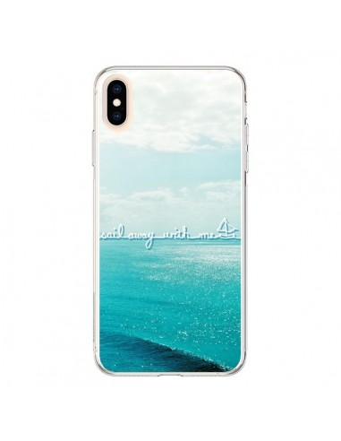 Coque iPhone XS Max Sail with me - Lisa Argyropoulos