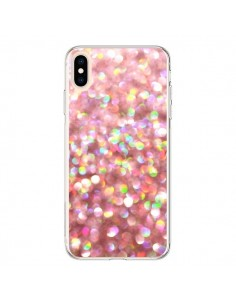 Coque iPhone XS Max Paillettes Pinkalicious - Lisa Argyropoulos