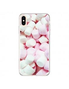 Coque iPhone XS Max Marshmallow Chamallow Guimauve Bonbon Candy - Laetitia