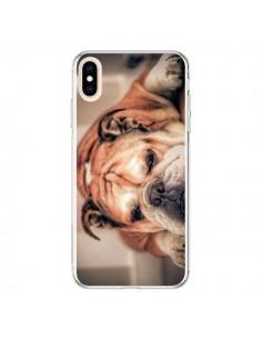 Coque iPhone XS Max Chien Bulldog Dog - Laetitia