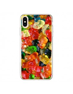 Coque iPhone XS Max Bonbon Ourson Candy - Laetitia