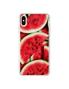 Coque iPhone XS Max Pastèque Watermelon Fruit - Laetitia