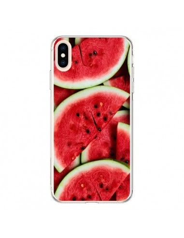 Coque iPhone XS Max Pastèque Watermelon Fruit - Laetitia