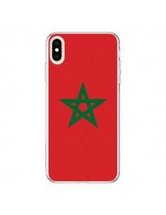 Coque iPhone XS Max Drapeau Maroc Marocain - Laetitia