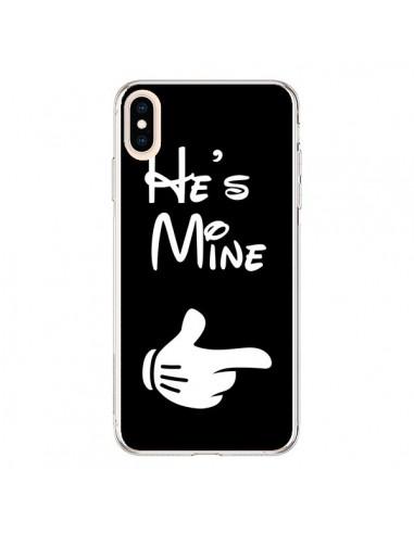 Coque iPhone XS Max He's Mine Il est à Moi Amour Amoureux - Laetitia